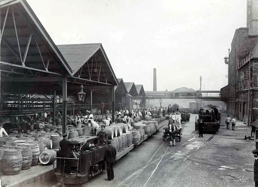 The St James S Gate Brewery Railway And Locomotives